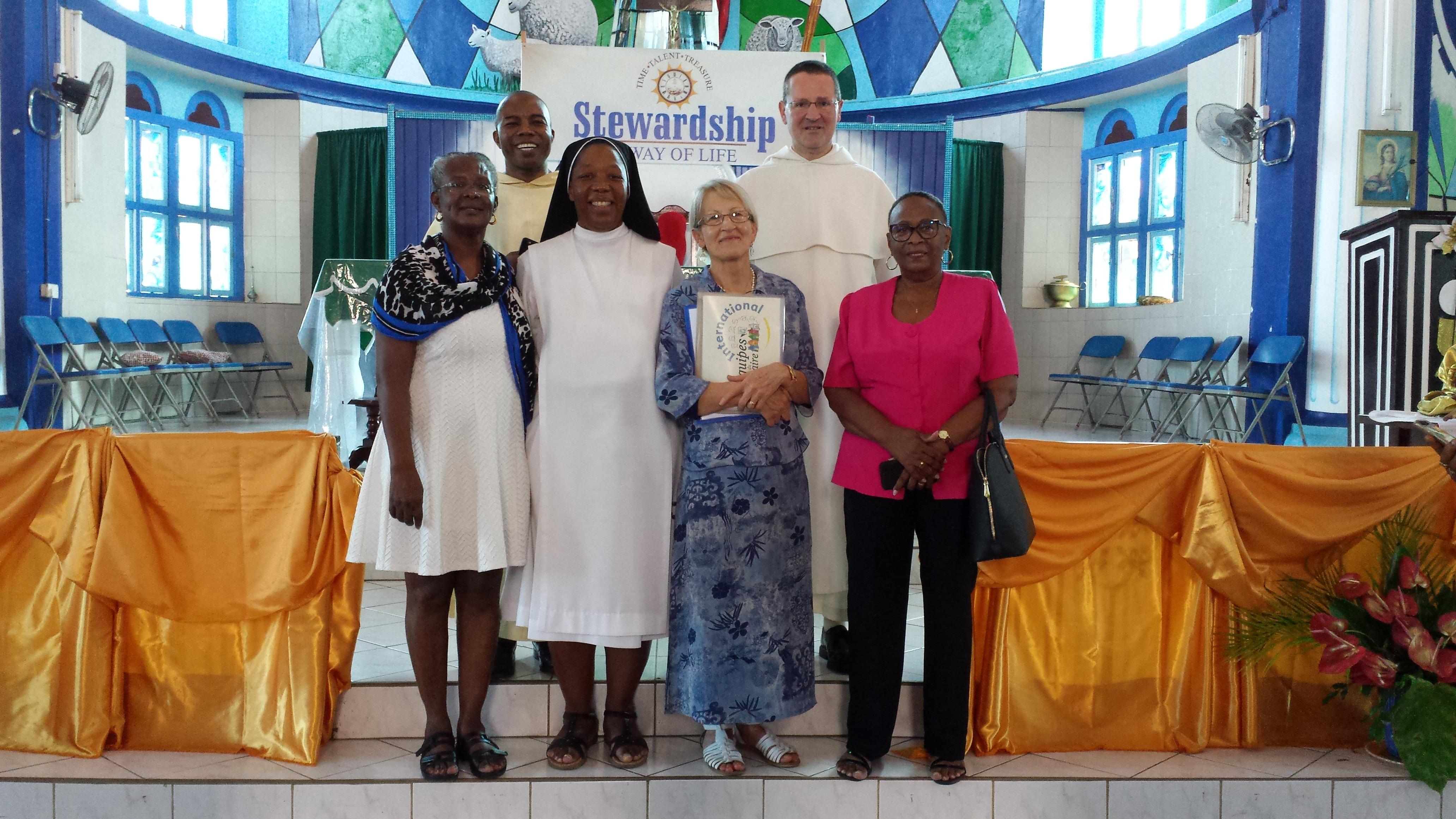 En mission à Sainte-Lucie