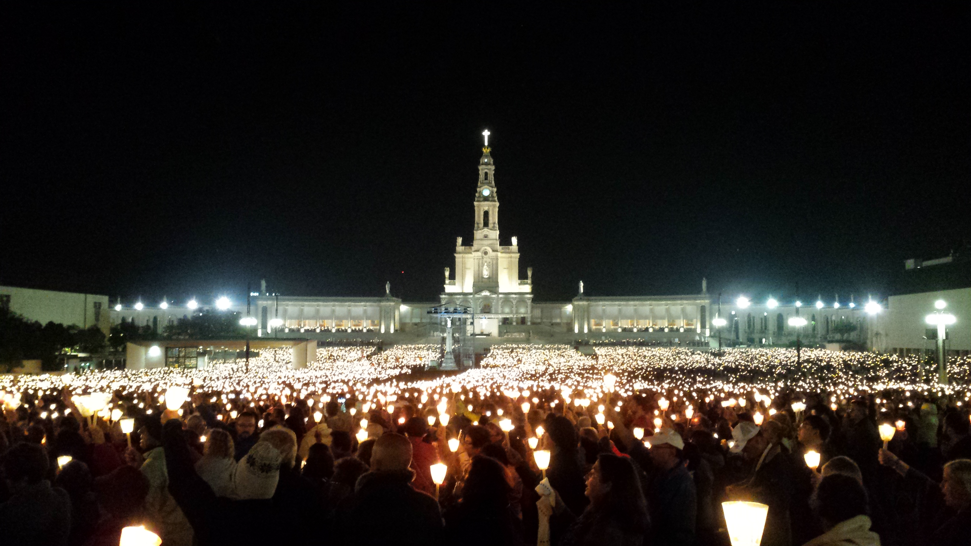 Sous la protection de Notre-Dame de Fatima