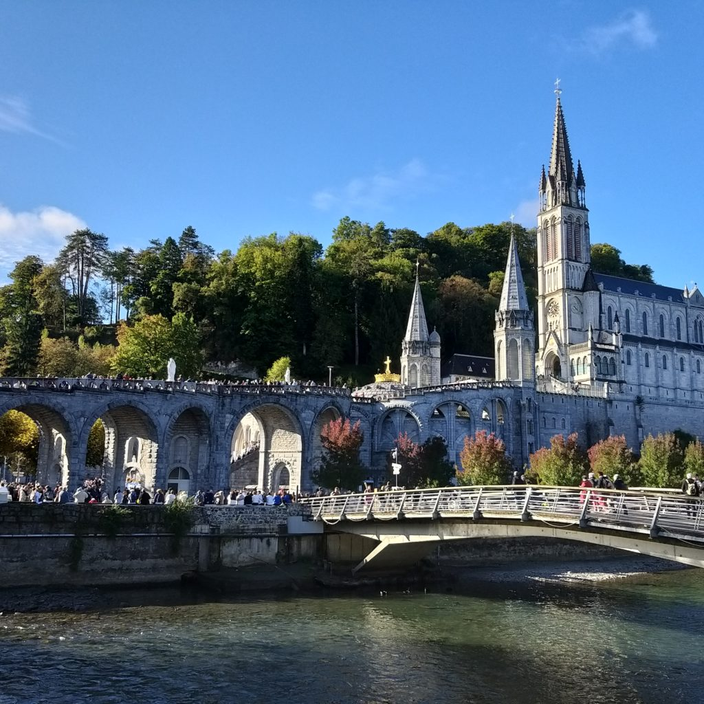 At the Rosary Pilgrimage - Lourdes - October 2019