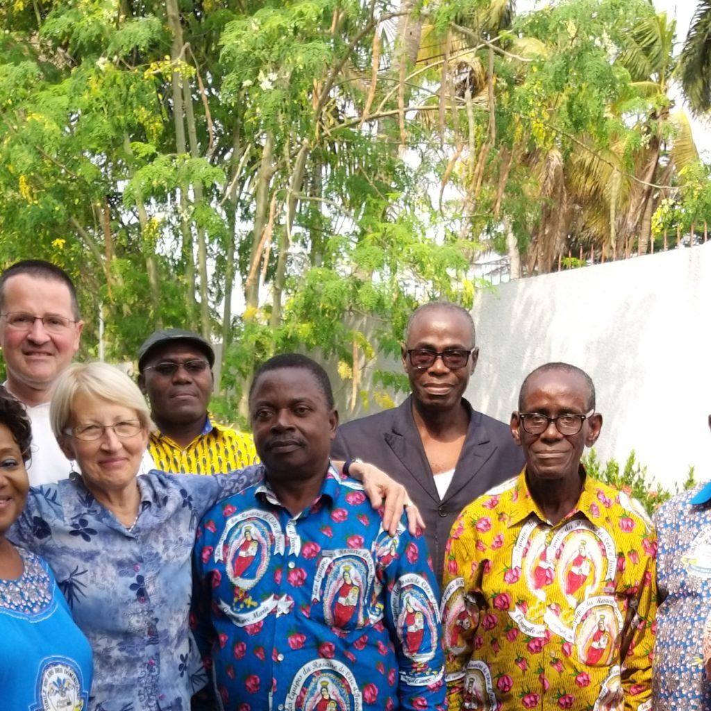 Encuentro con los Equipos marfileños - Abiyán - Costa de Marfil - Julio 2019